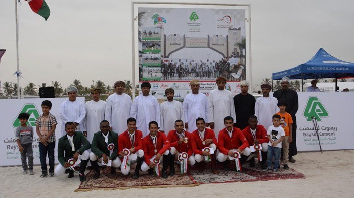 Equestrian Week events at the Salalah Tourism Festival 2019