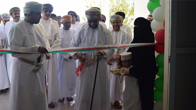 Inauguration of Multi-Purpose Hall at Al-Wafa Centre, Salalah