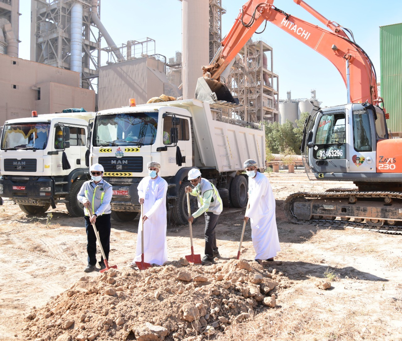Raysut Cement Company Holds Groundbreaking Ceremony of Installation 9MW Waste Heat Recovery System
