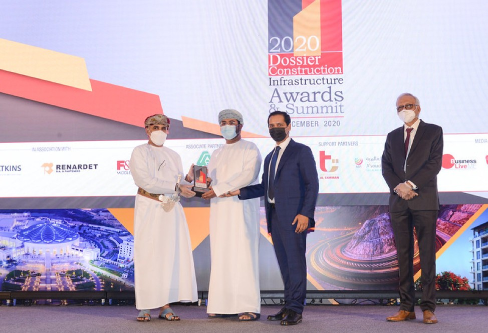 Raysut Cement Company scoops nation builder award at dossier construction's infrastructure awards and summit 2020