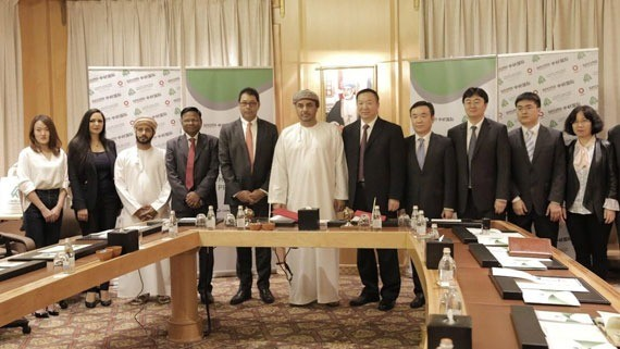 Raysut Cement Company signing off Waste Heat Recovery project agreement