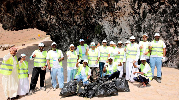 RCC carrying out a Campaign for Mughsail beach cleaning