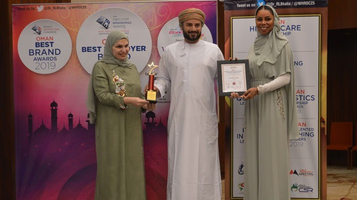 RCC receiving the best trading brand award, according to the, Building and Real State sector – Cement and the best Company Social responsibility practices