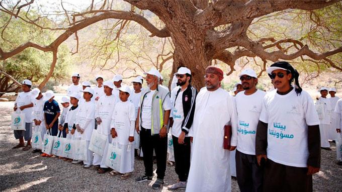 """RCC sponsoring """"Wadi Darbat cleaning Campaign"""