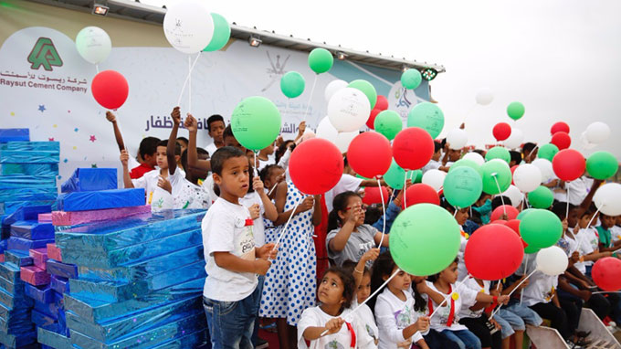 RCC with the Co-operation with Dhofar Environment Implementing Children environmental competitions at Itin tourist passage :-